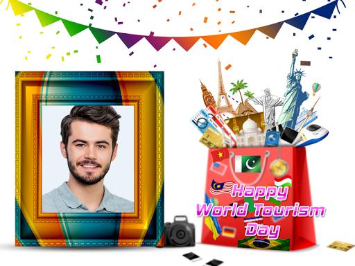 World Tourism Day Photo Frames