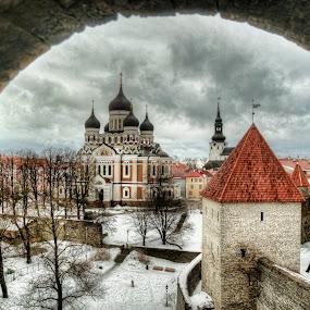 Tallinn by Filippo Bianchi - Landscapes Travel ( estonia, eesti, ì, neve, snow, d5000, fil.ippo, tallinn, photoshop )