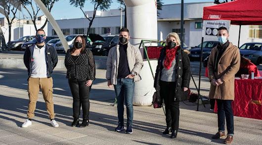 Sergio Vicente y la bonita subida a Huebro para la Vuelta a Almería
