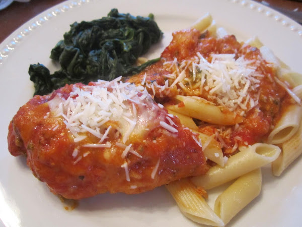 Stuffed Chicken Parmesan Recipe