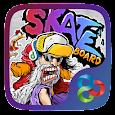 Skate GO Launcher Theme apk