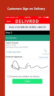 Delivrdd Driver - náhled