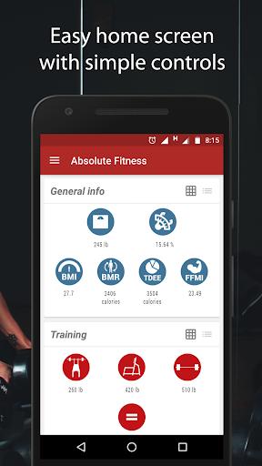 Absolute Fitness: Gym Workout screenshot 1