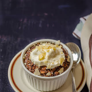 Healthy Baked Chocolate Oats.