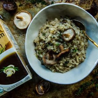 Shiitake Mushroom Risotto.
