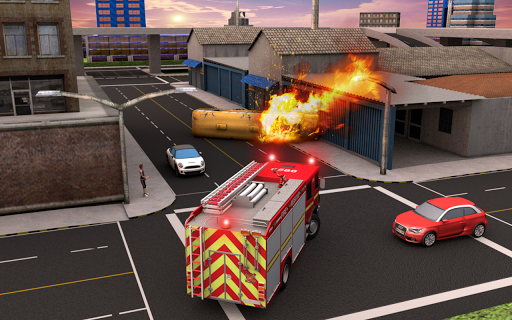 NY City FireFighter Hero: Rescue Truck Simulator 1.1 screenshots 4