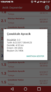 App Anlık Depremler APK for Windows Phone