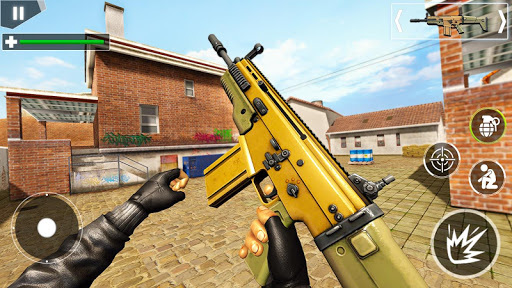 Police Counter Terrorist Shooting - FPS Strike War apkpoly screenshots 10