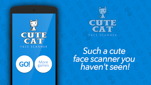 Cute cat face scanner