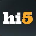 hi5 - meet, flirt, chat app icon