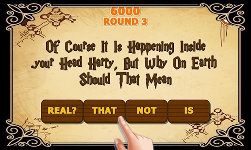 Riddle's Diary - Hogwarts Quiz- screenshot thumbnail