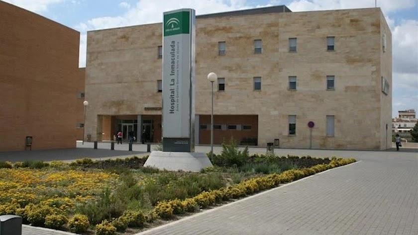 El Hospital La Inmaculada, en una imagen de archivo.