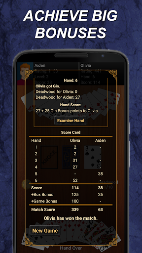 Gin Rummy  gameplay | by HackJr.Pw 4