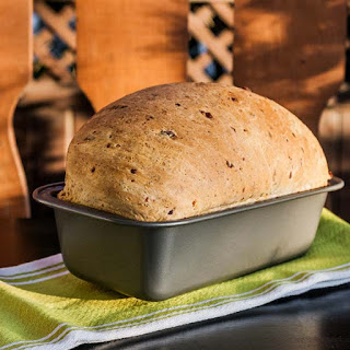 Cheddar Cheese and Olives Bread