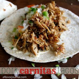 Pork Carnitas Tacos..