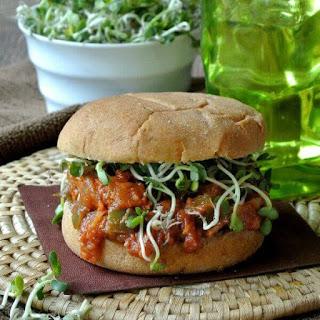 Vegan BBQ Chicken Sandwich Recipe