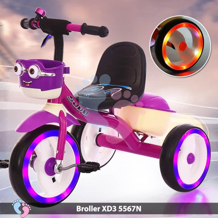 Xe đạp ba bánh Broller XD3-5567N 4
