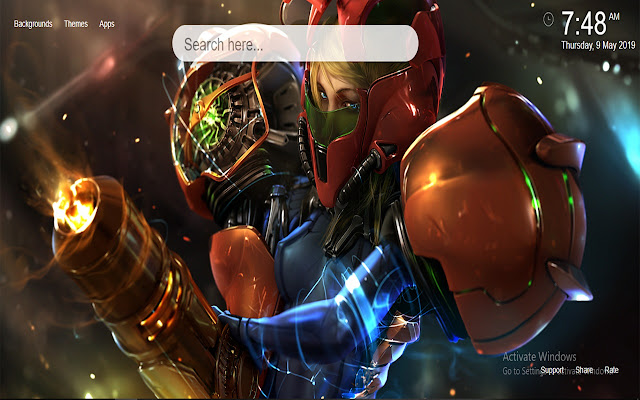 Metroid HD Wallpapers New Tab