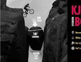 Trialbiker Kenny Belaey stunt op unieke locatie op de Kjeragbolten