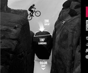 VIDEO: Trialbiker Kenny Belaey stunt op unieke locatie in Noorwegen (al liep het ook bijna fataal af...)