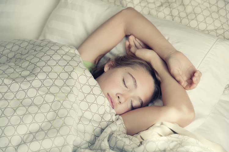 New research has found that getting some extra sleep can have a positive effect on teenagers' mood and mental health.