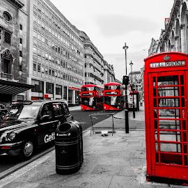 London's street by -. Phooneenix .- - City,  Street & Park  Street Scenes ( london, street,  )