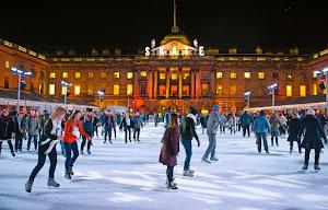 Ice Skating at somerset london