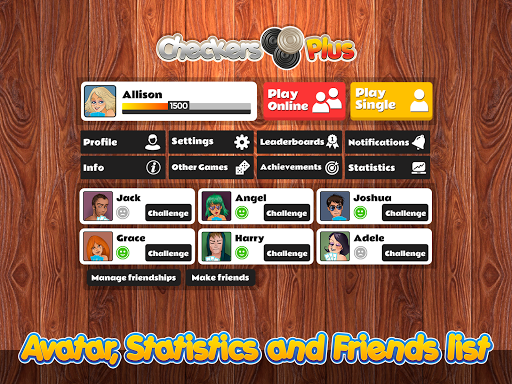 Checkers Plus - Board Social Games screenshots 10