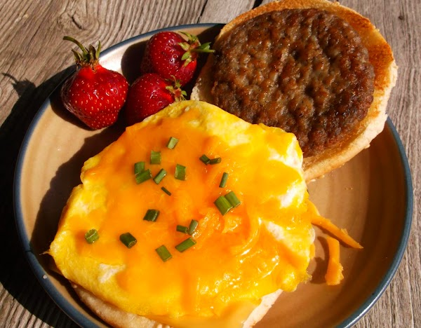 """Serve hot or wrap in foil, wax paper or parchment paper for """"breakfast on-the-go."""""""