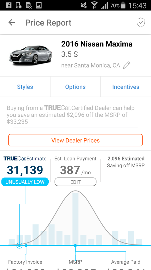 buy new and used cars with truecar the car price checker and car. Black Bedroom Furniture Sets. Home Design Ideas