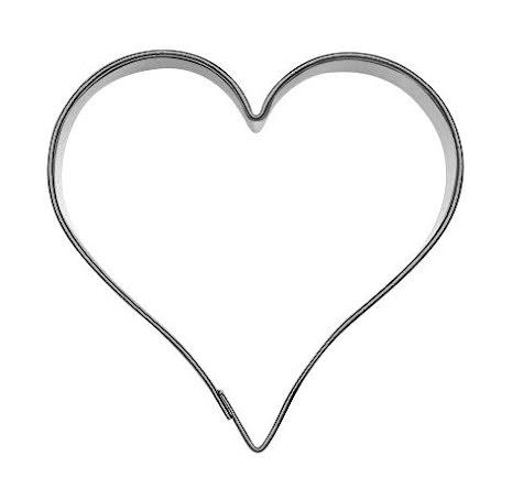 Kakform - Hjärta, 6 cm