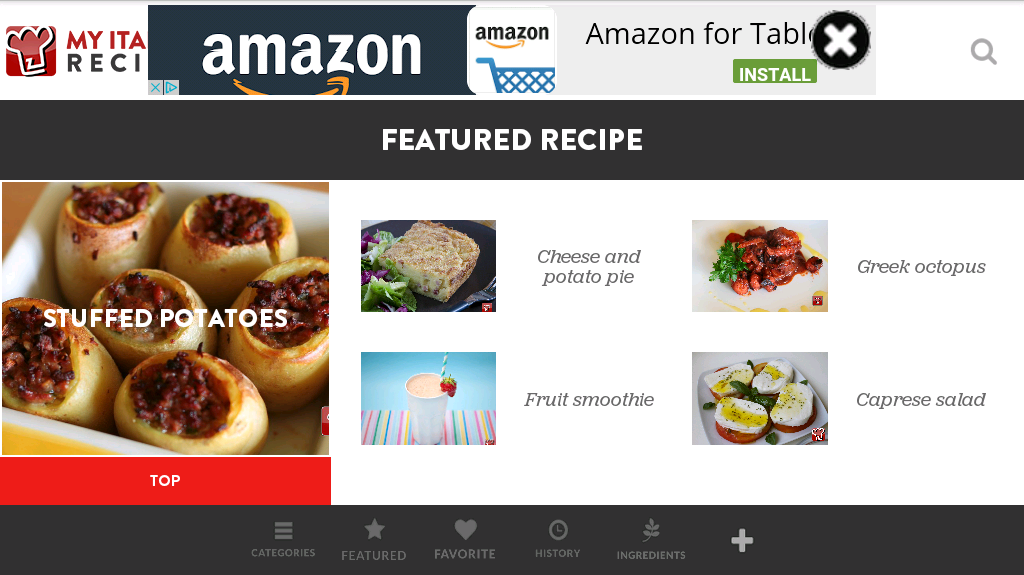 My Italian Recipes - Android Apps on Google Play