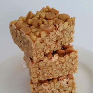 Peanut Butter Quinoa Puff Bars