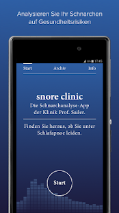 snore clinic Screenshot