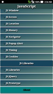 Learn JavaScript - JavaScript Tutorial App - náhled