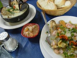Photo: サンチャゴ 市場 http://parajunko.blog.fc2.com/blog-entry-83.html