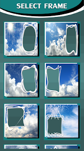 Clouds Photo Frames - náhled