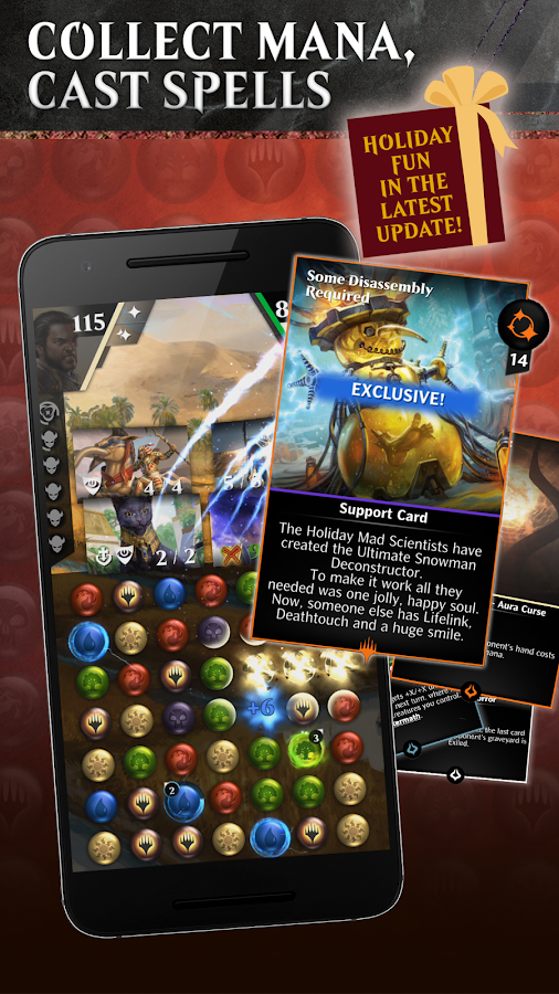 Magic: The Gathering - Puzzle Quest- screenshot