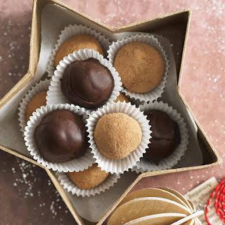Chocolate and Peanut Truffles