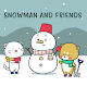 Cute Wallpaper Snowman and Friends Theme APK