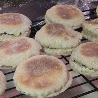 Honey Whole Wheat English? Muffins