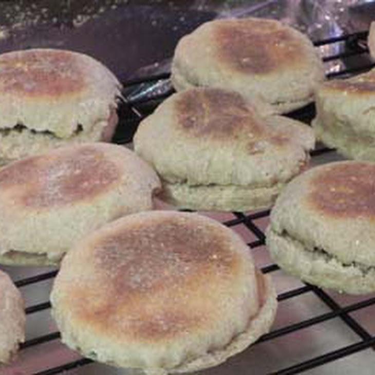 Honey Whole Wheat English? Muffins Recipe