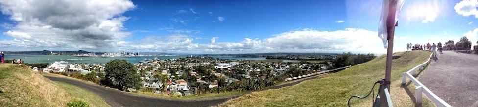Nowa Zelandia, wydmy, panorama