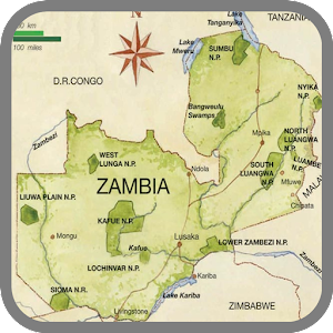Zambia Map Travel Android Apps On Google Play - Zambia map