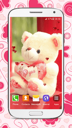 Sweet Teddy Bear Wallpaper 21 Screenshot 1059161
