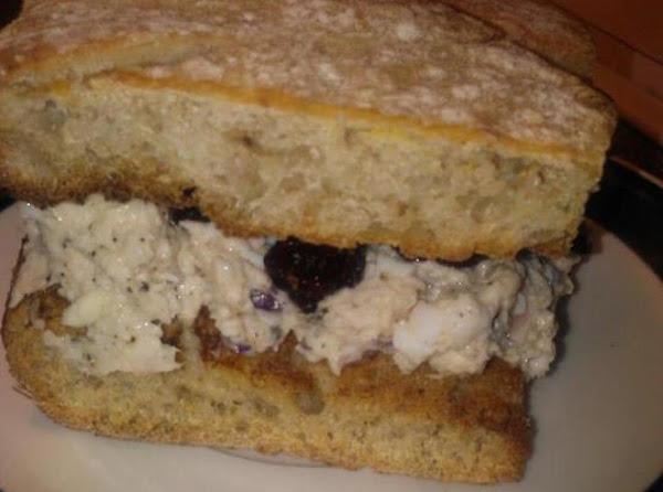 Craisin Chicken Salad Sandwich Recipe