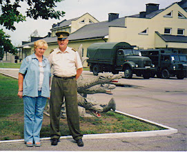 Photo: Genutė Grigalauskaitė su vyru. Nuotrauka iš asmeninio archyvo