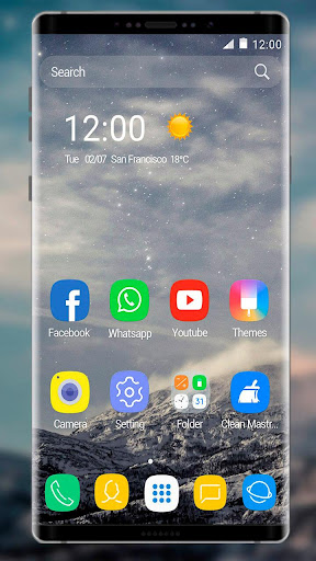 Theme for Samsung Galaxy Note 8 1.1.8 screenshots 1