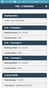 Indian Rail PNR Status App Latest Version  Download For Android 6