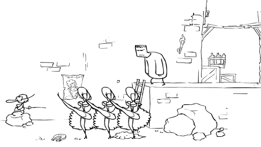 Trolling Adventure:VerSus Knight Quest filehippodl screenshot 6